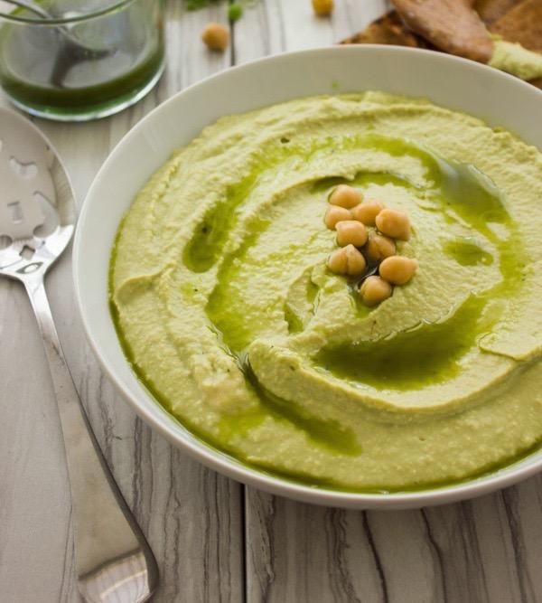 Matcha Hummus